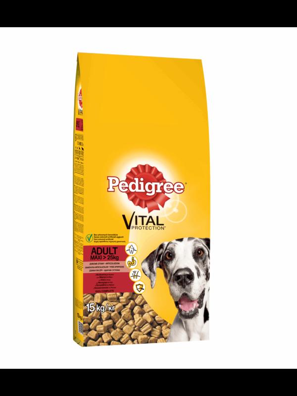 Pedigree Large Breed Mοσχαρι & Ρύζι 15KG